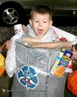 Homemade Trash Man Costume