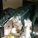 Homemade T-Rex Halloween Costume Idea
