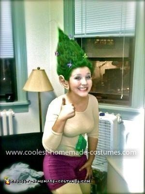 Homemade Troll Doll Costume