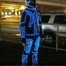 Homemade Tron Legacy Costume