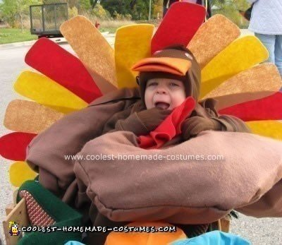 Homemade Turkey Costume