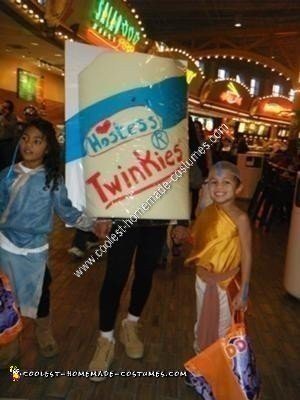 Homemade Twinkies Unique Halloween Costume Idea