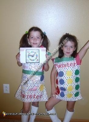 Homemade Twister Twins Costume