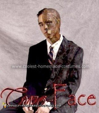 Homemade Two-Face from The Dark Knight Costume