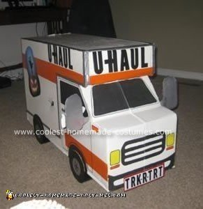 Homemade U Haul Truck Costume