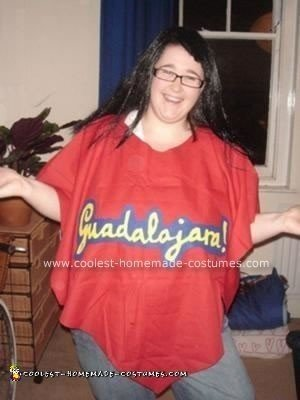 Homemade Ugly Betty Costume