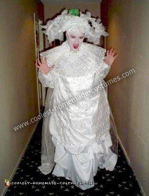Homemade Undead Vampire Lucy Costume from Bram Stoker's Dracula