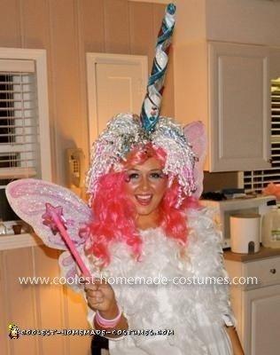 Homemade Unicorn Costume