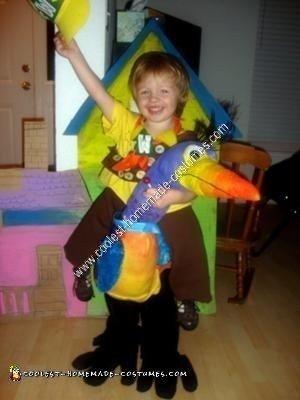 Homemade UP Halloween Costume Idea