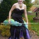 Homemade Ursula Costume