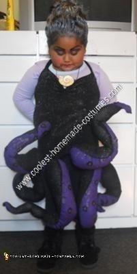 Homemade Ursula Halloween Costume Idea