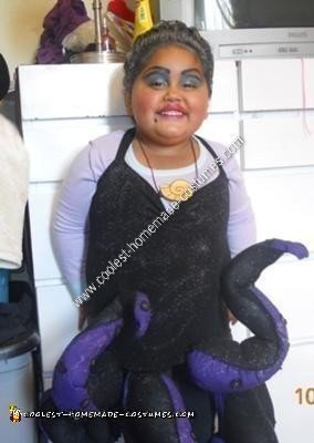 Homemade Ursula Halloween Costume Idea