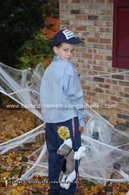 Homemade US Mailman Costume