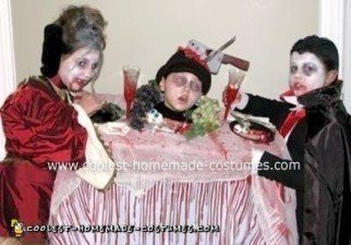 Homemade Vampire's Feast Group Costume