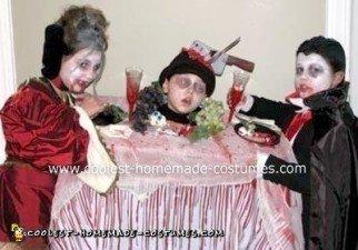 Homemade Vampire's Feast Group Costume