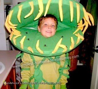 Homemade Venus Flytrap Costume