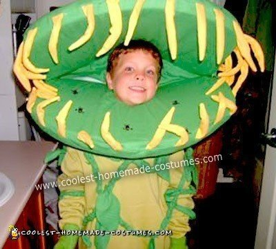 Homemade Venus Flytrap Costume