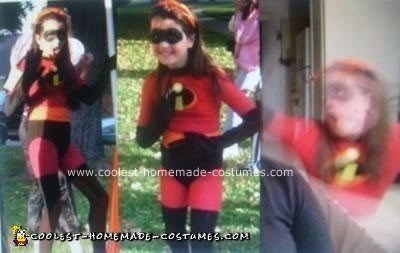 Homemade Violet from Disney's Incredibles Costume