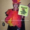 Homemade Volcano Costume - Mount St. Abby