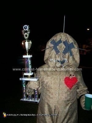 Homemade Voodoo Doll Costume