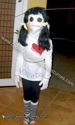 Homemade Voodoo Doll Halloween Costume