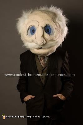 Homemade Waldorf from the Muppets Halloween Costume