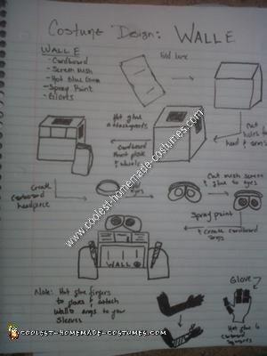 Quick Drawn WALL-E Instructions