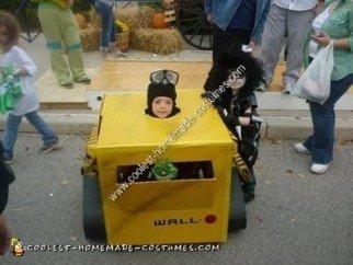 Homemade Wall E Child Halloween Costume Idea