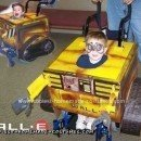 Homemade Wall E on Wheelchair Costume