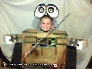 Homemade Wall-E Child Costume