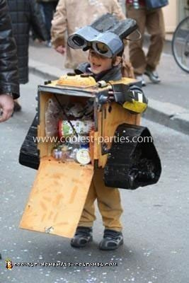 Homemade Wall-E Costume