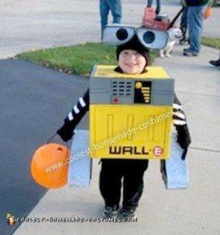 Homemade Wall-E Halloween Costume