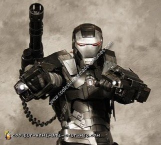 Homemade War Machine Iron Man 2