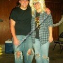 Wayne and Garth Couple Costume