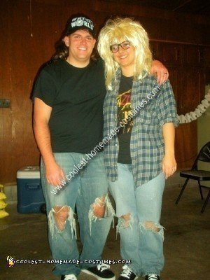 Wayne and Garth Couple Costume