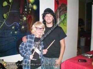 Homemade Wayne and Garth Couple Costume