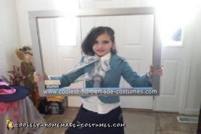 Homemade Weatherwoman Costume