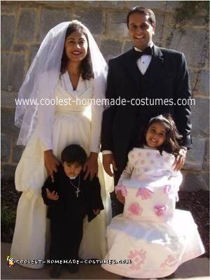 Homemade Wedding Family Costume