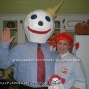 Homemade Wendy and Jack in the Box Costume