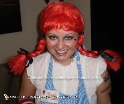 Homemade Wendy's Girl Gone Bad Unique Halloween Costume Idea