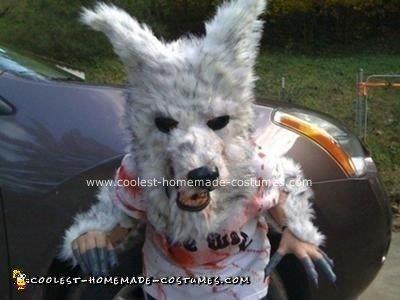 Homemade Werewolf Costume