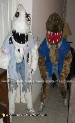 Homemade Werewolf Costumes