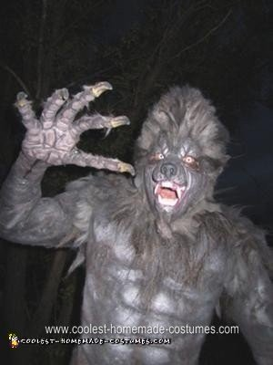 Homemade Werewolf Halloween Costume