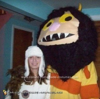 Homemade Where The Wild Things Are Costume