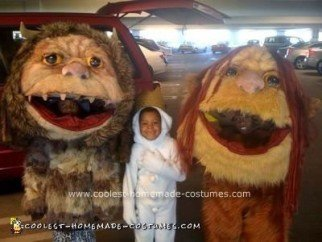 Homemade Where the Wild Things are Costumes