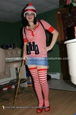 Homemade Where's Waldo Costume