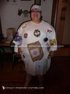 Homemade White Trash Halloween Costume