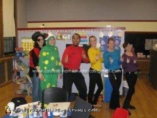 Homemade Wiggles Group Costume