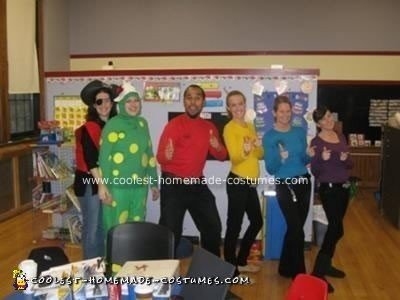 Homemade Wiggles Group Costume