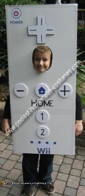 Homemade Wii Remote Costume